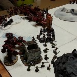 Une belle bataille TAU versus Chaos